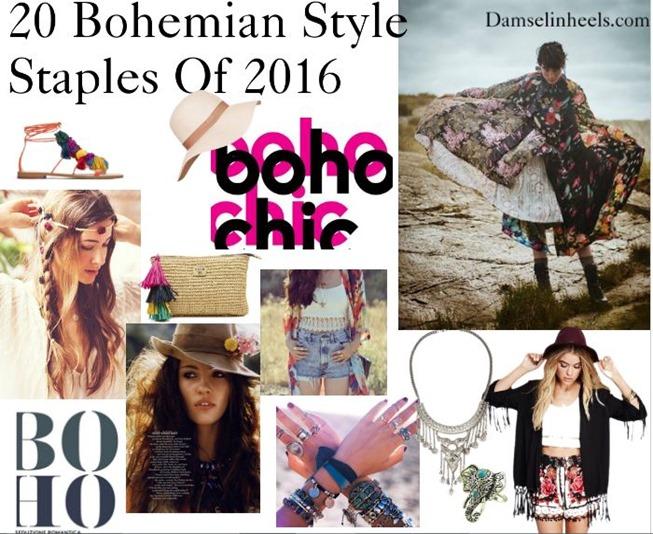 BOHO CHIC- 20 Bohemian Style Staples Of 2016