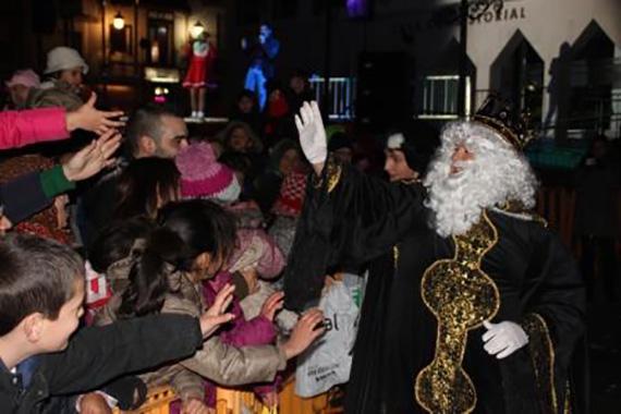 Cabalgata de Reyes 2016 en Arganda del Rey