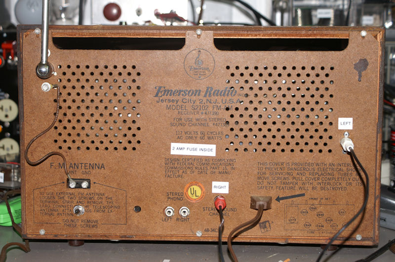 Emerson S2102 StereoRadio     - Antique Radio Forums • View topic