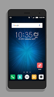 MIUI 8 theme for ZenUI - náhled
