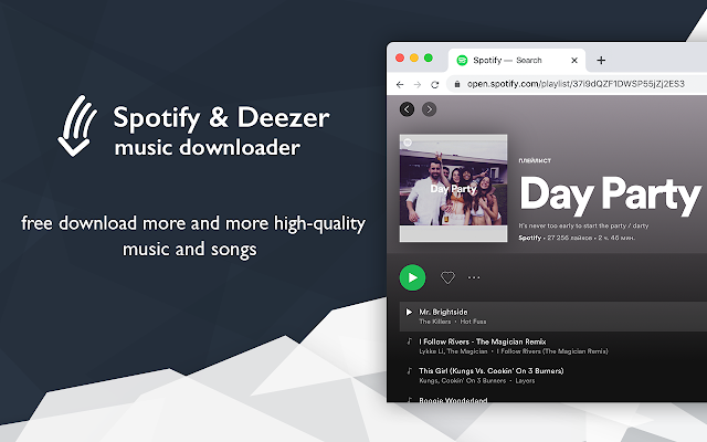 Spotify™ & Deezer™ Music Downloader