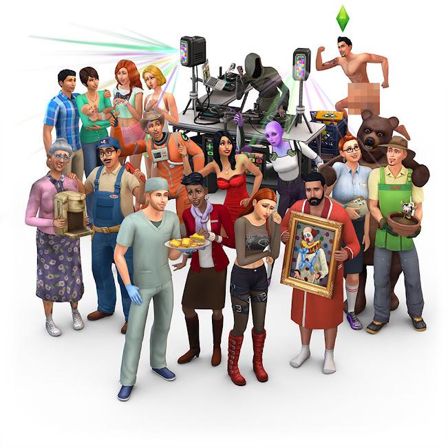 De Sims 4 16de verjaardag render