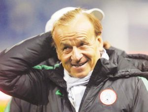 Rohr: Why I can't marry a Nigerian