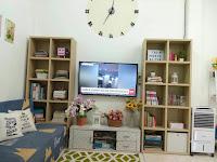 Desain Ruang Tv Industrial Minimalis