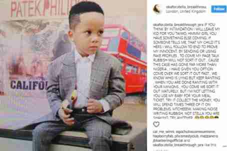 Toyin Lawani slams Lady Who Claim she stole her son