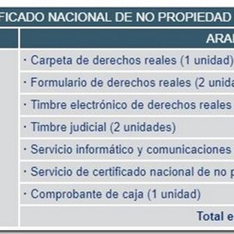 """Bolivia: Requisitos y costos para obtener el """"Certificado Nacional De No Propiedad - ASFI"""" en Derechos Reales"""