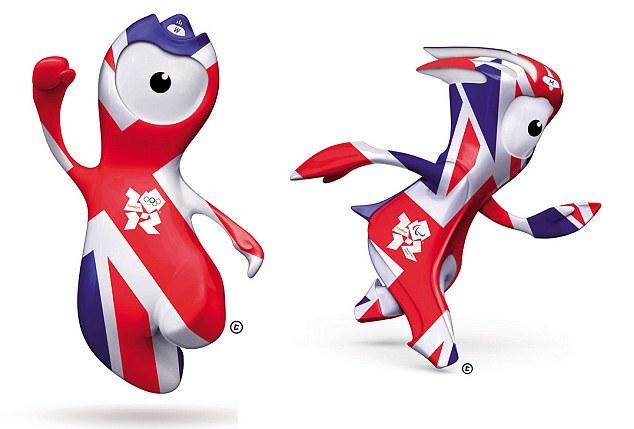 Maskot Olimpiade 2012