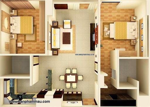 Thiết kế nội thất căn hộ ở TP HCM
