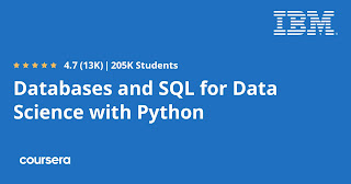 free course to learn SQL and database from IBM Coursera