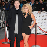 WWW.ENTSIMAGES.COM -   Professor Green and Tori Kelly arriving at   MOBO Awards 2014 at SSE Arena Wembley October 22nd 2014Annual awards show recognising the best in urban music which is supported by HTC Photo Mobis Photos/OIC 0203 174 1069