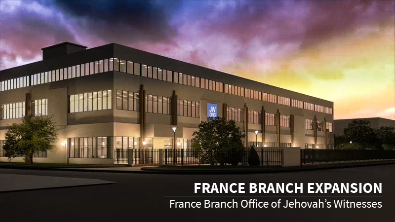 Branch offices of jehovahs witnesses 2018 bethel in google earth france branch expansion sciox Choice Image
