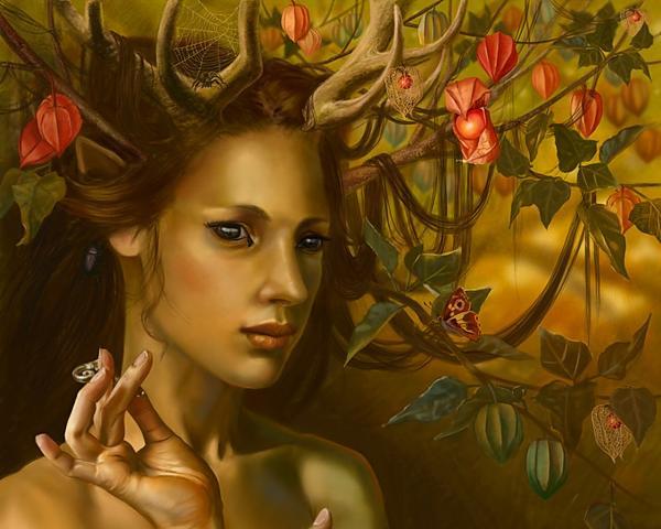 Holy Faery Maiden, Fairies 3