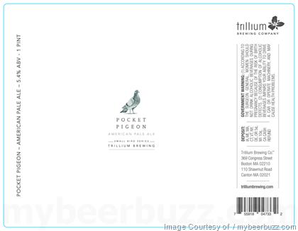 Trillium Pocket Pigeon American Pale Ale