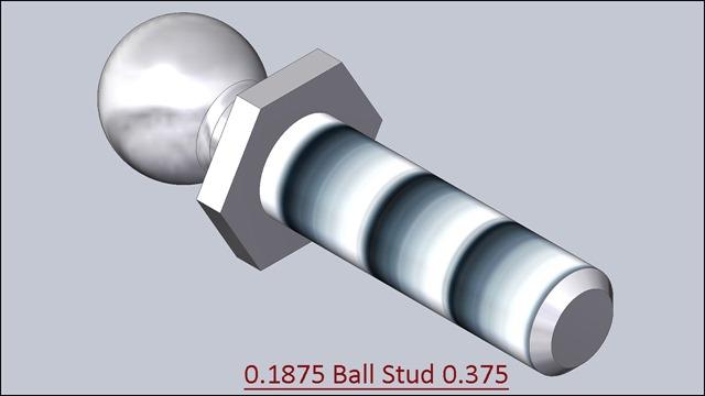 0.1875 Ball stud .375