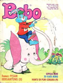 Majalah Bobo Edisi 1 Agustus 1991