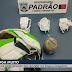 ASSISTA: Homem chuta bola de futebol com droga para dentro de presídio em Campina Grande