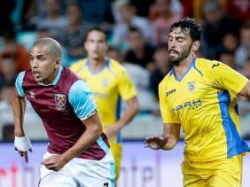 Premier match officiel de Sofiane Feghouli avec West Ham