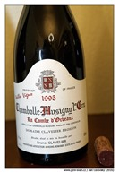 "Bruno-Clavelier-Chambolle-Musigny-1er-Cru-""La-Combe-d´Orveaux""-1995"