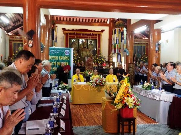 Đại Hội Huynh Trưởng GĐPT Thừa Thiên NK 2016-2020