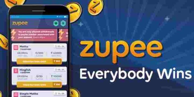 Zupee App Loot - Get ₹36 Free PayTM Cash Per Gmail id (Unlimited Trick)
