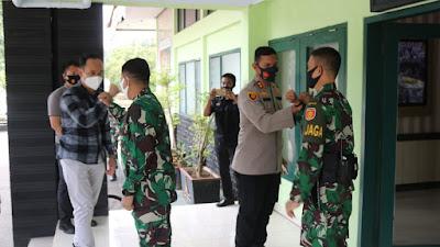 TNI - Polri Majalengka Semakin Solid Terus Lakukan Kunjungan