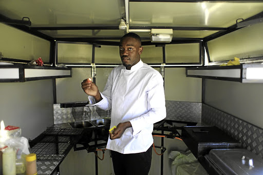 Chef Sifiso Chiziane represented SA at the Culinary Olympics in Stuttgart, Germany, in February.