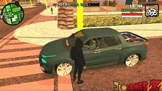 SAIU! INCRÍVEL GTA BRASIL VIDA DO CRIME APK + DATA ESTILO MOTOVLOG PARA CELULARES ANDROID + DOWNLOAD