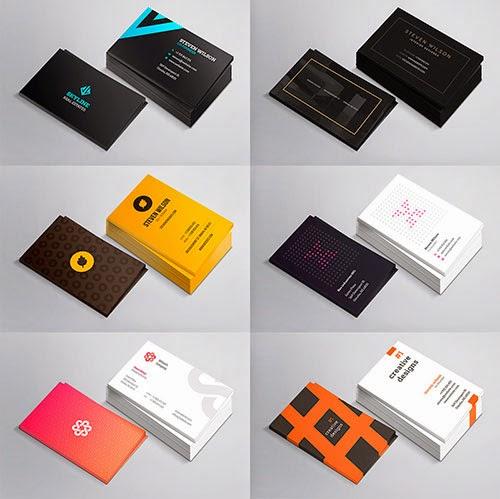 10 plantillas de tarjetas de presentación y negocios para descargar