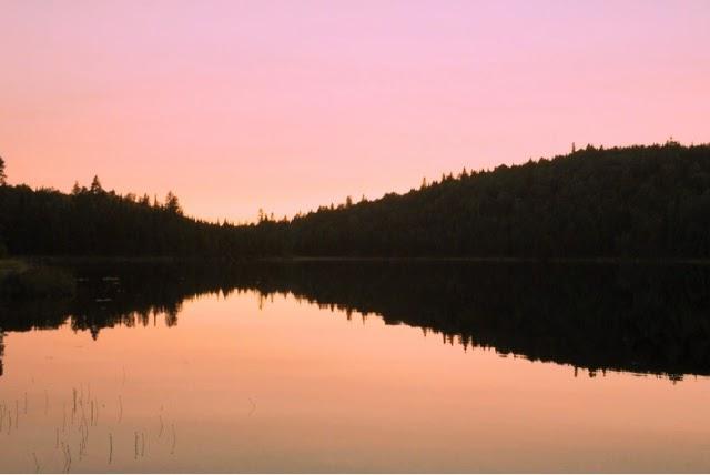 parc national mauricie canada Québec vacances nature lucileinwonderland blog lifestyle voyage paysage canadien coucher de soleil