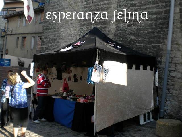 Esperanza Felina en el mercado Medieval de Vitoria  DSCN5674