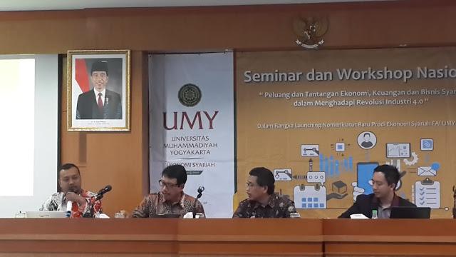 Perekonomian Syariah Indonesia Siap Hadapi Revolusi 4.0