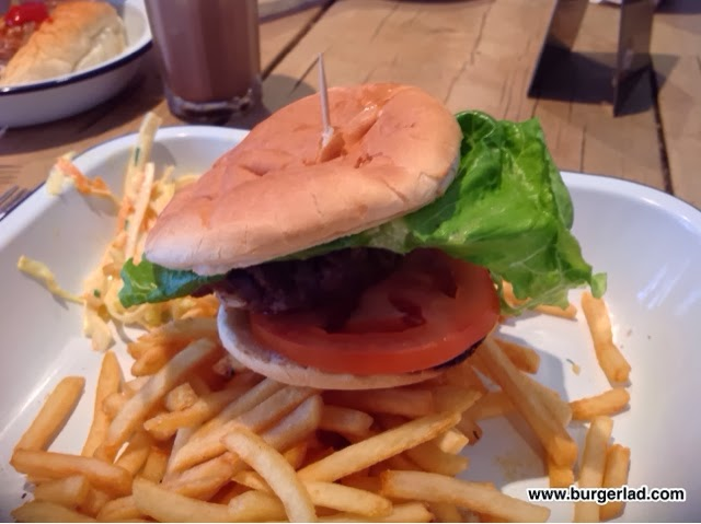 Boston Tea Party Ultimate Burger
