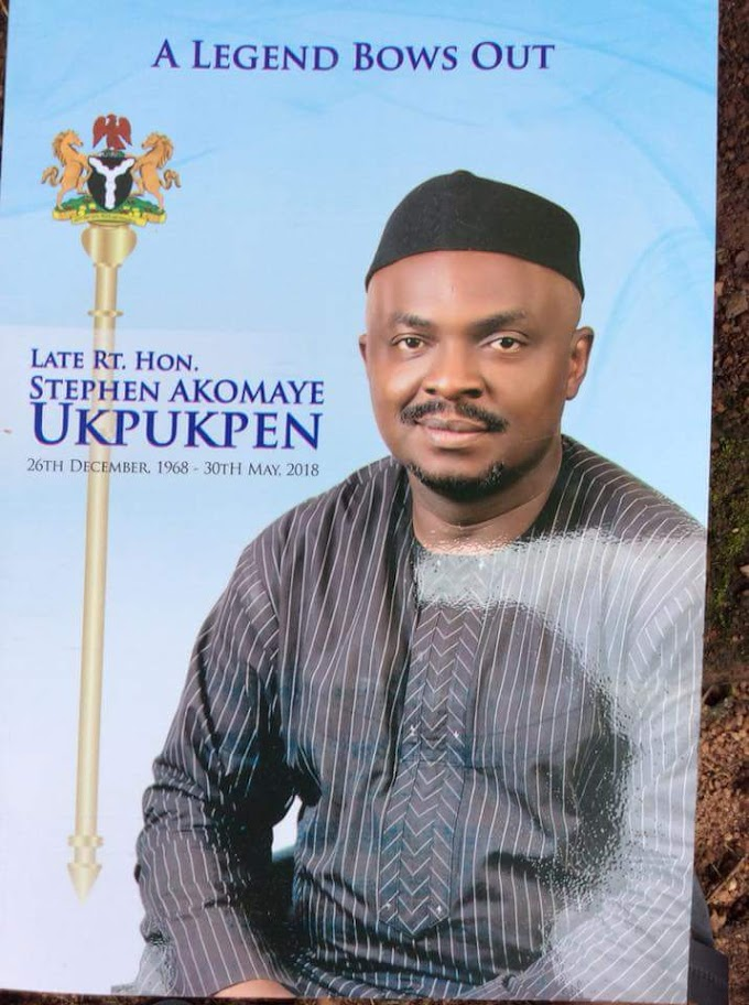 Late Rt Hon Stephen Ukpukpen laid to rest - see photos