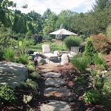 Informal garden path