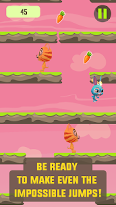 Speedy Bunny: Run, Jump & Tilt screenshot 2