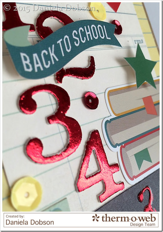 Back to school close  by Daniela Dobson for Therm O Web