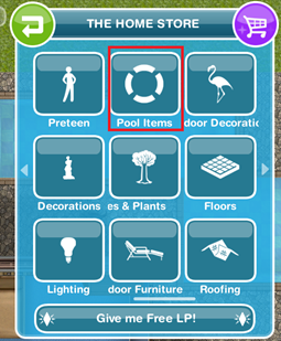 sims 3 how to add item to consign