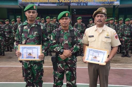 Horeee... Primkop Kartika Hasanuddin Beri THR Personel Kodim 1407/Bone