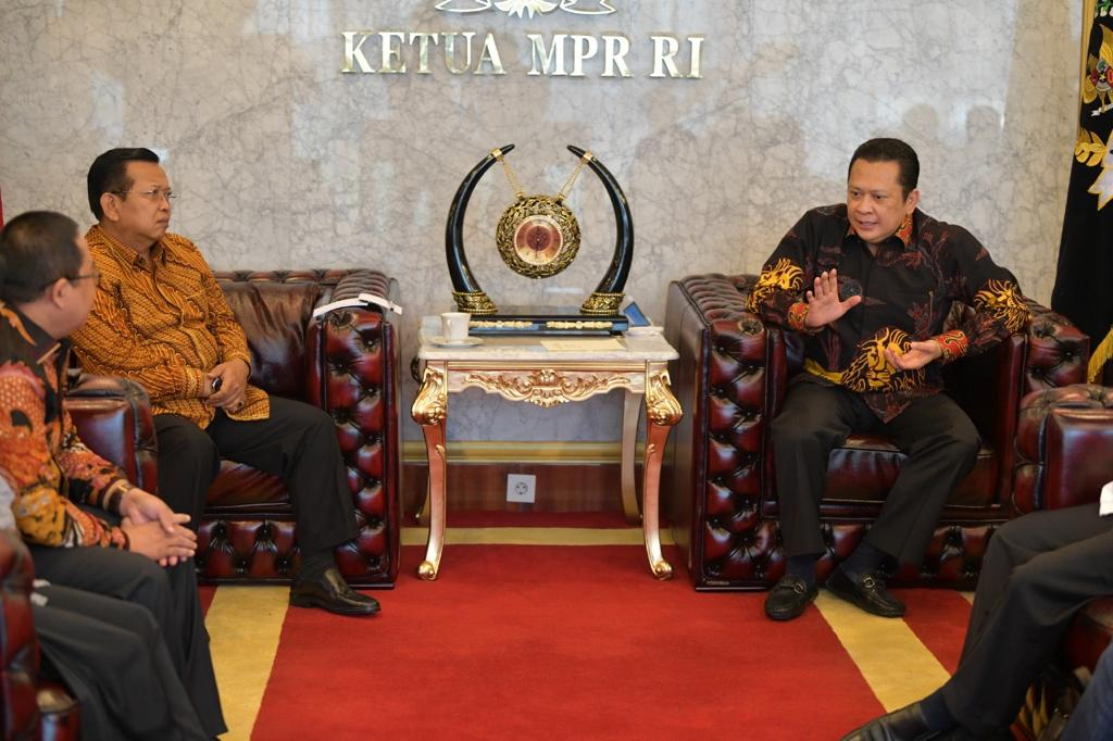 Bertemu Pimpinan MPR RI, Alumni PMII Dukung BPIP Diatur Dalam Undang-Undang