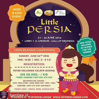Lomba Baby Dance Little Persia