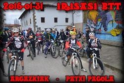 Irisasi BTT 2016 PATXI PAGOLA