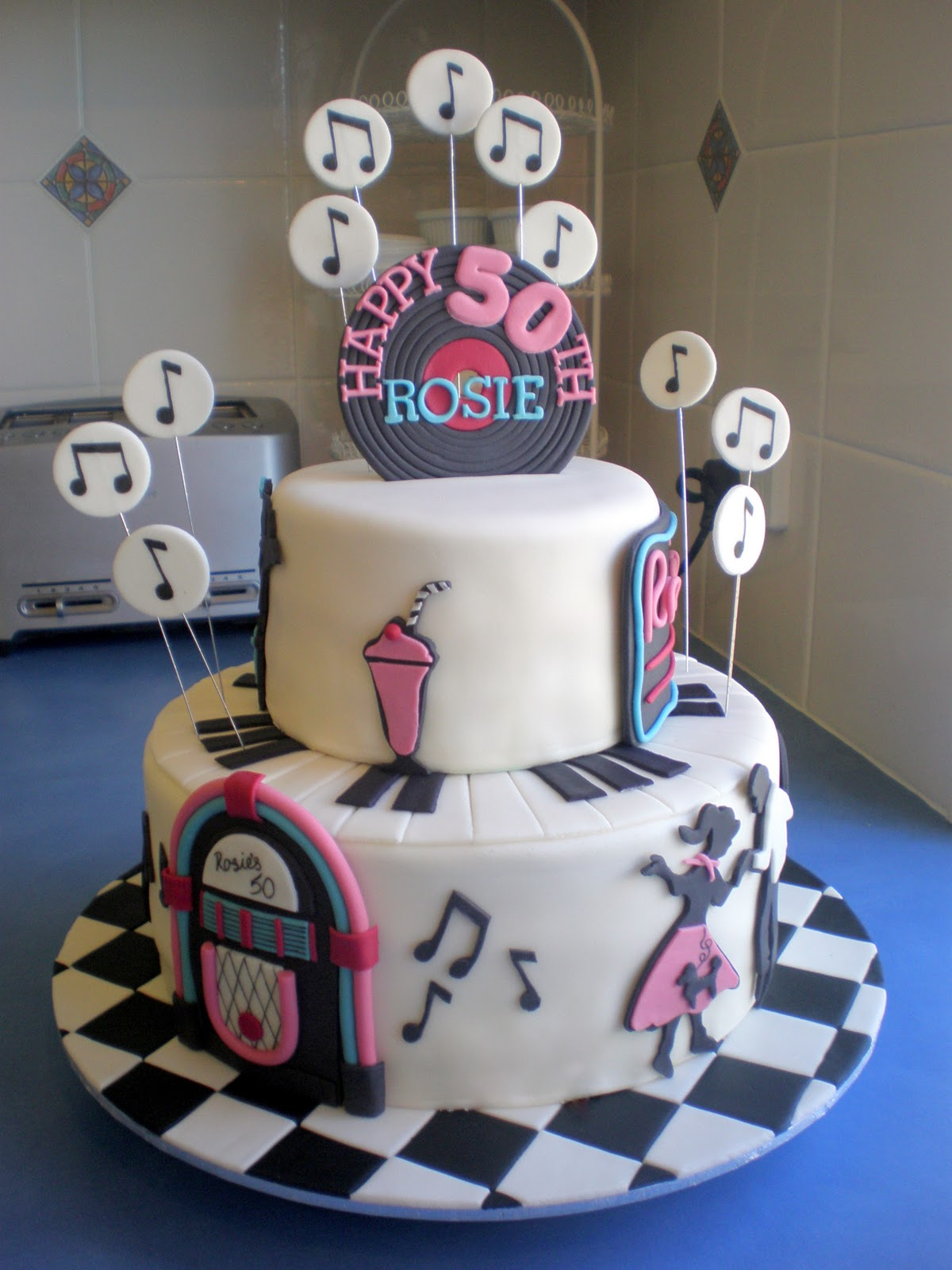 The Cake For Both Tiers Was 3 Layers Of Blondie Vanilla Butter With Italian Meringue Buttercream However I Tinted To