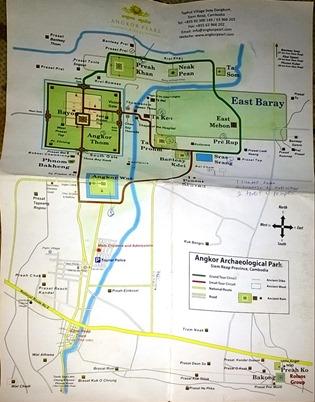 Map of Siem Reap