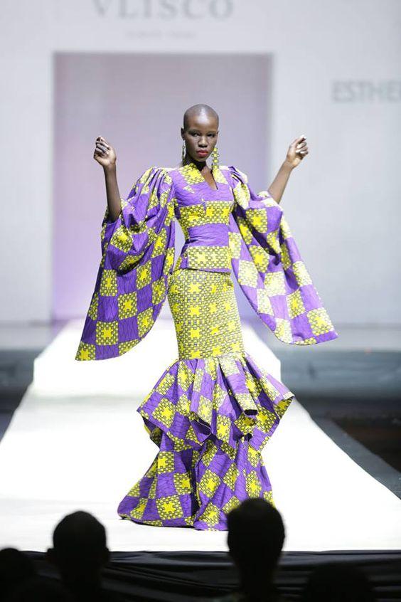 THE BEST RUFFLE DRESS DESIGNS SOUTH AFRICAN WOMEN LOVE TO WEAR 3