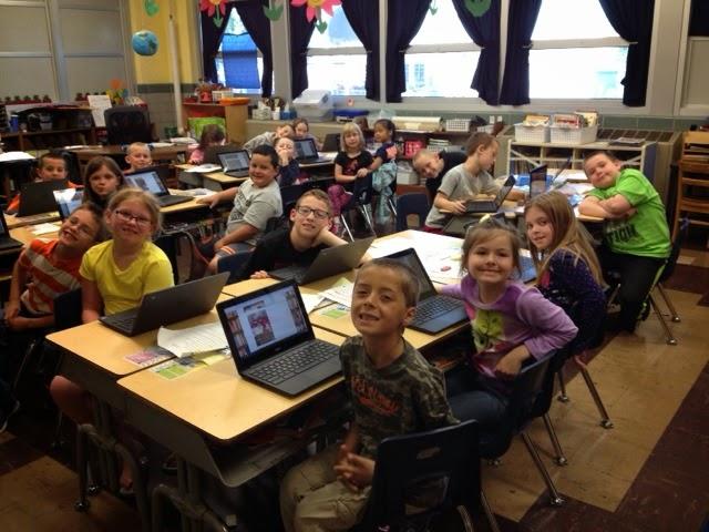 Waverly First Grade Chromebooks