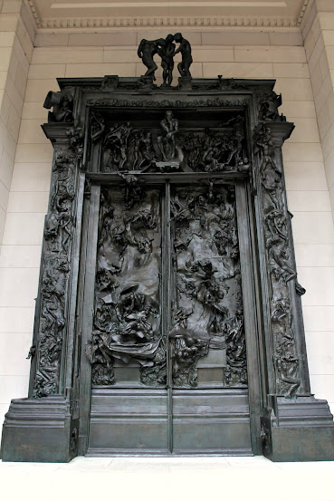 Philadelphia - Museu Rodin - A Porta do Inferno