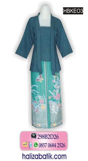 HBKEO3 Batik Terbaru, Model Blus Batik, Batik Modern, HBKEO3