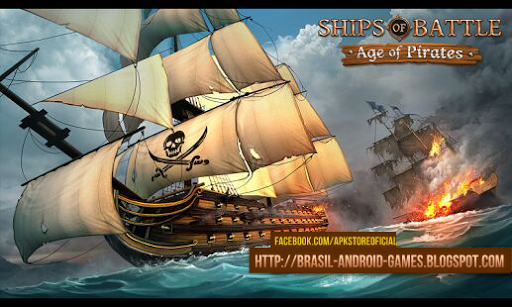 Ships of Battle Age of Pirates Imagem do Jogo