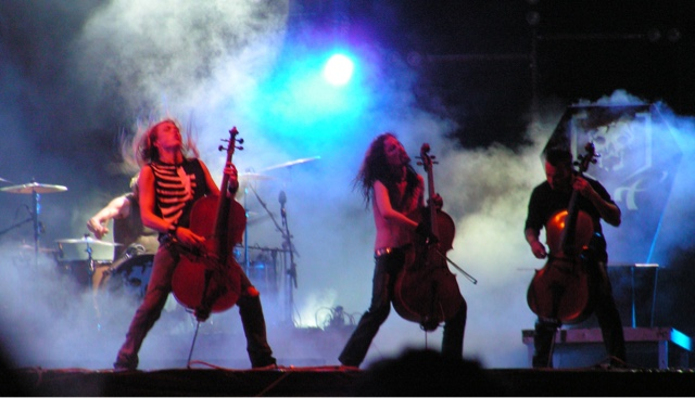 Apocalyptica - Finnish metal on celos