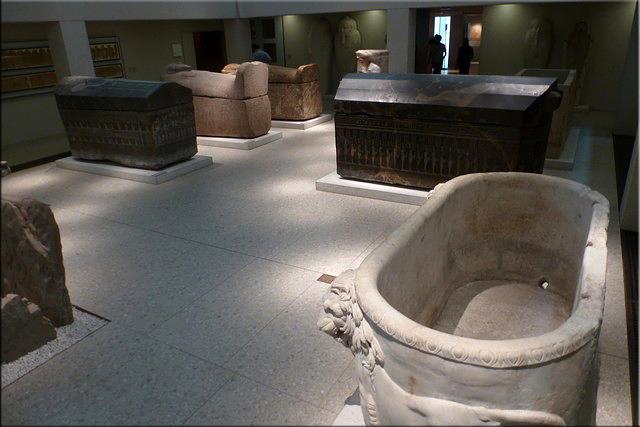 Ägyptischen Hof (Patio Egipcio) - Neues Museum - Berlín'15
